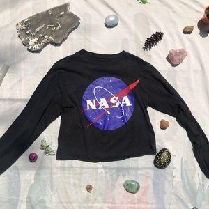 NASA cropped long sleeve 🚀